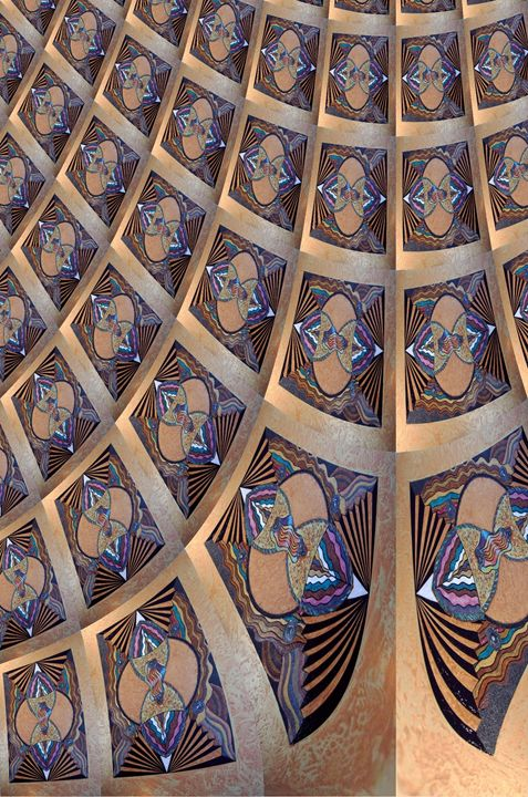Sacred Construction - Ceiling (BR - Ricky Kendall