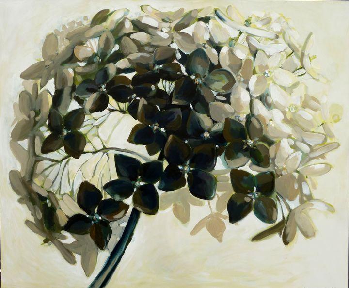 Black&White - Kamille Saabre paintings
