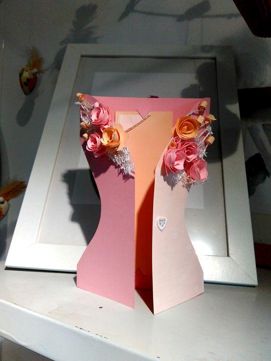 Dress card for pink days - Kartessa Rosa