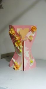 Spring and pink dress card