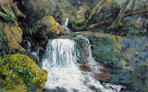 Waterfall #001 - Richard Zheng