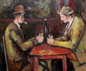 repro. Paul Cezanne #044 - Richard Zheng