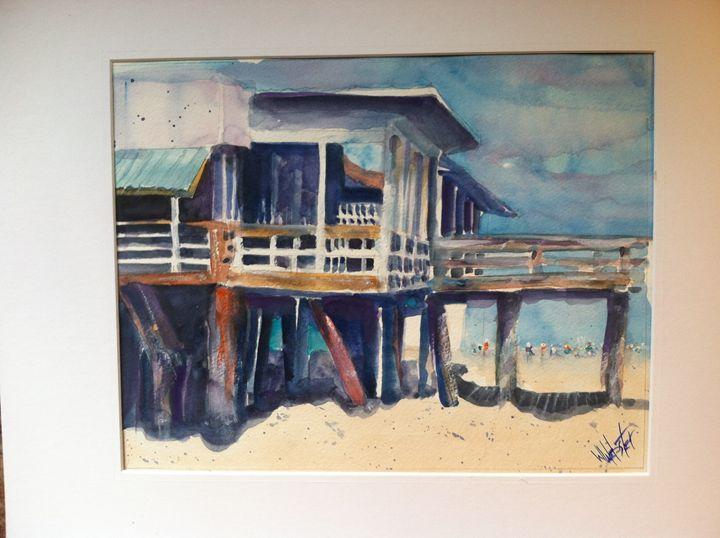 Duanes Place - Webster original art