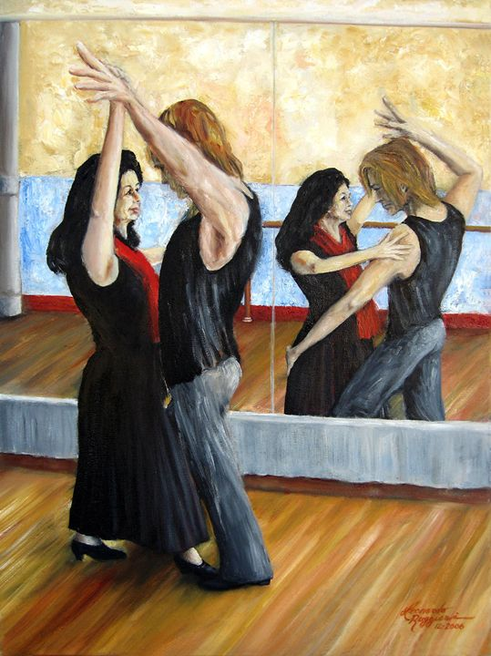Dirty Dancing - Leonardo Ruggieri Fine Art Paintings
