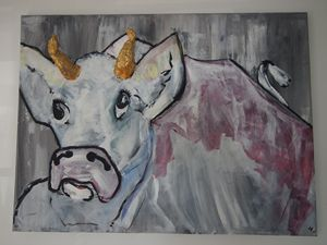 """Moody cow  """"submissive"""""""
