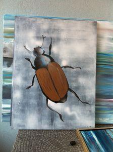 """bug series """"siga eremit beetle"""""""