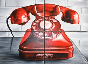 """The Red Phone"" by Silviya"