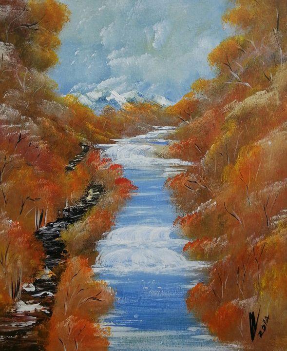 Autumn life - Kelvin's Art Studio