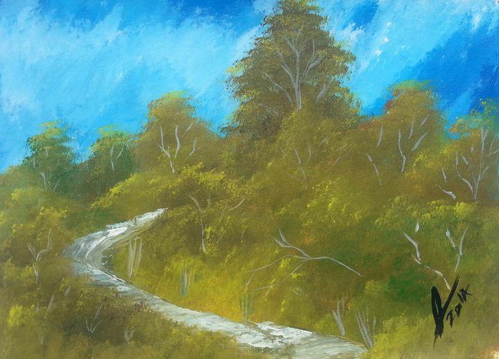 Hillside - Kelvin's Art Studio