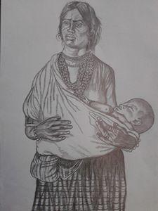 A Poor Gypsy Women