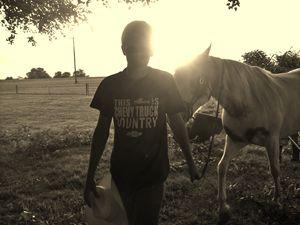 """Cowboy """"Sunset"""""""