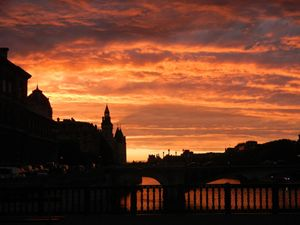 Dresden by evening - Frauenkirche
