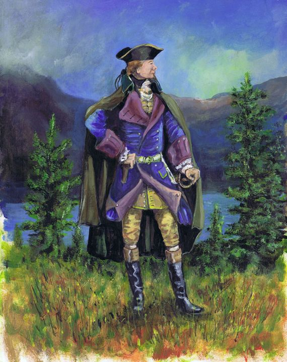 General Wolfe by the St Lawrence Riv - Phil Willetts
