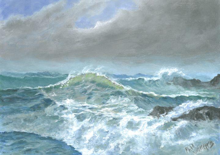 Cornish Seascape - Phil Willetts