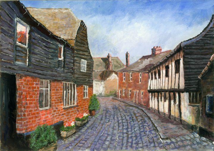 Butchers Lane - Phil Willetts