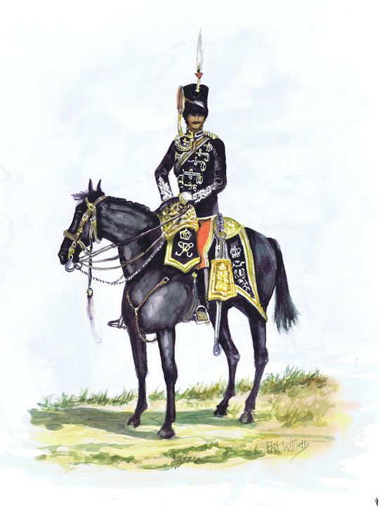 Office 11th Prince Albert Own Hussar - Phil Willetts