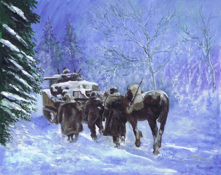82nd Airborne Division advance winte - Phil Willetts