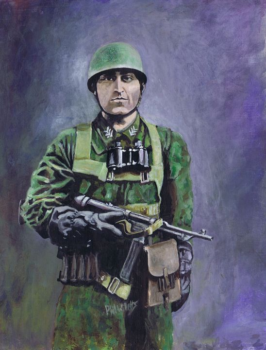Fallschirmjäger (green devils) - Phil Willetts