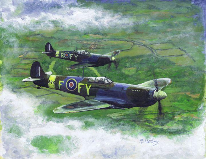 "The Spitfire MK 1X ""deliverance' - Phil Willetts"