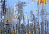 City, acrylic on canvas