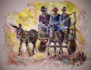 The Donkey Cart - Fancy a Ride?