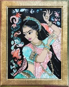 Indian lady- classical dance