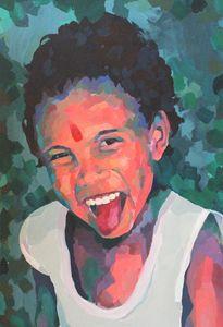 Indian child, portrait