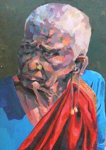 Indian woman, portrait