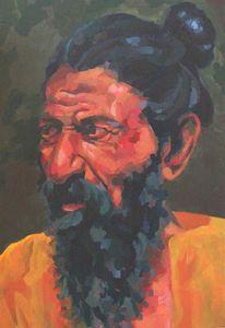 Indian man, portrait