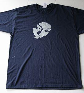 Feelin' Blu Navy Blue TShirt Size L