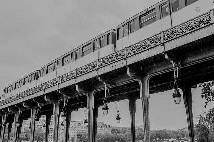 Paris by train - Henry Harrison