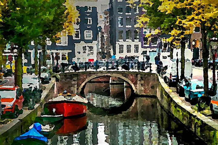 Amsterdam Bridge - Henry Harrison
