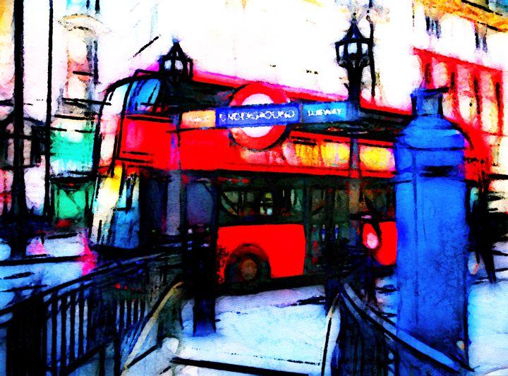 The Subway London - Henry Harrison