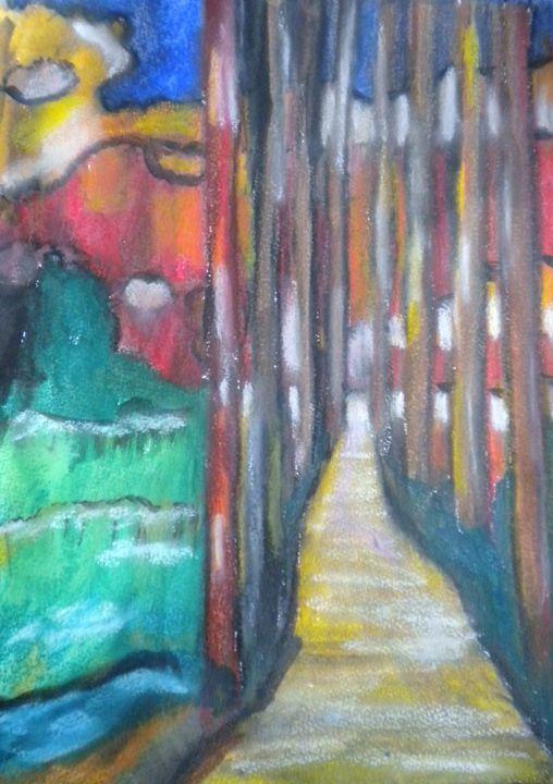 The Winding Road - VickiJane Paintings