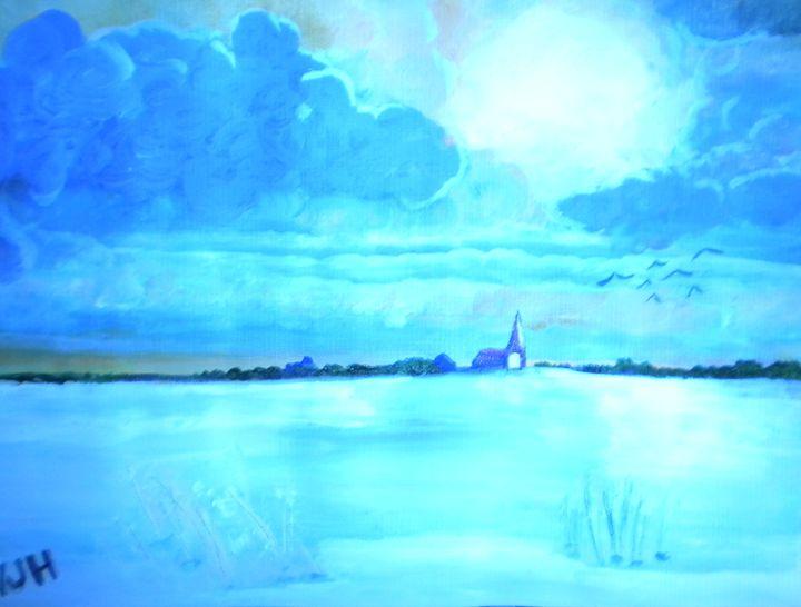 Silence - VickiJane Paintings