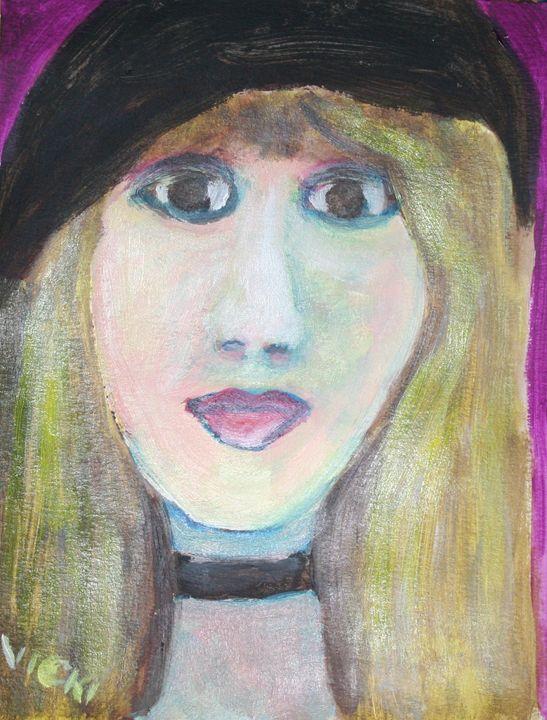 Stevie - VickiJane Paintings