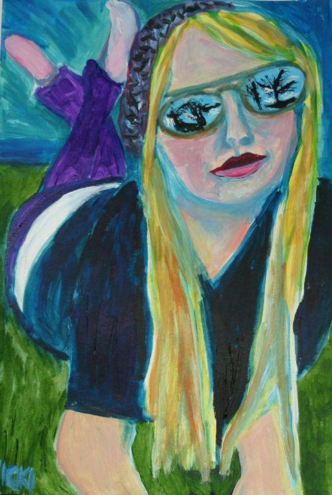 Arlana Rose - VickiJane Paintings