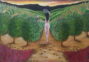 Coffee Plantation Woman