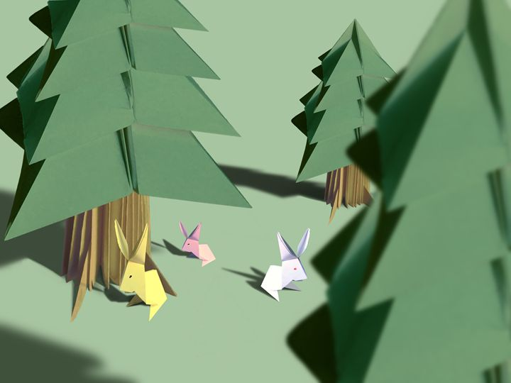 Paper Forrest. - The Five Jays