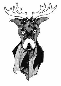 Pattern Reindeer