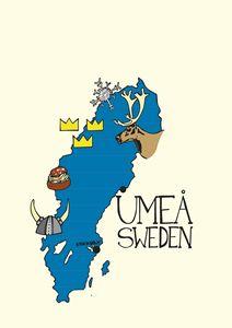 Umeå Map