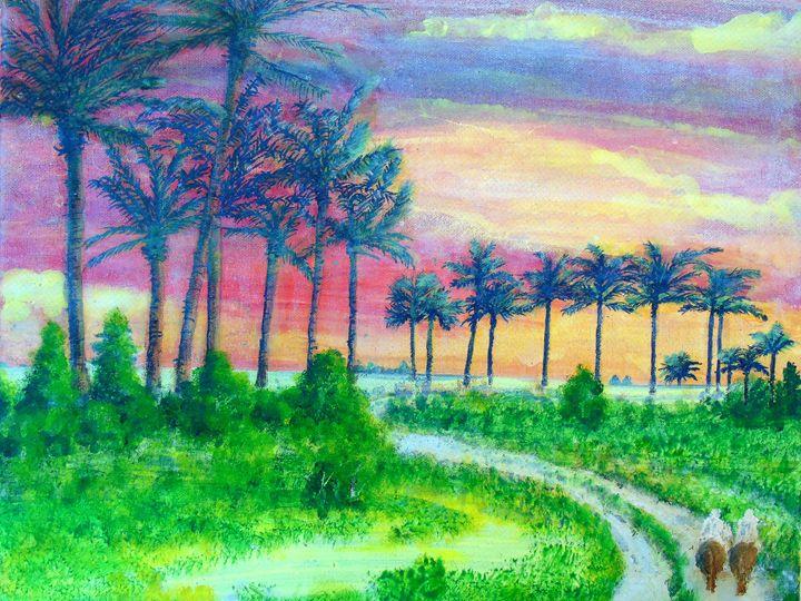 Afternoon Riding - HGCavazoz.ArtPal.com