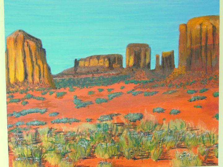 Monument Valley  4 - HGCavazoz.ArtPal.com