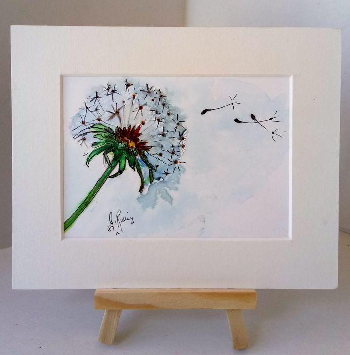 Dandelion - Gwen Ridley Artist