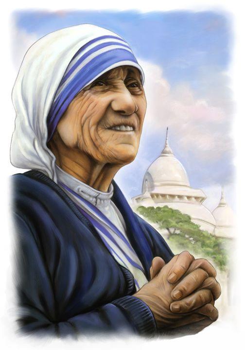 Mother Theresa - ArtHouseDesign