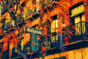 Autumn city