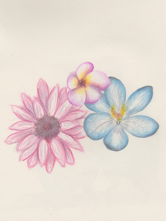 Gift of Flowers - Emma's Art Gallery