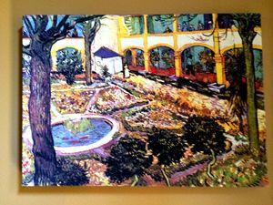 Hospital Garden by Van Gogh