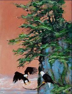 Eagles Hoonah Alaska