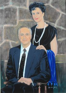 Artist and Wife Dorothy SelfPortrait